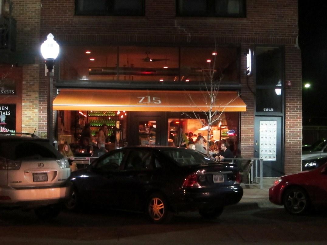 715 Restaurant Lawrence Kansas Mrs Mass Downtown