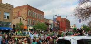 St. Patrick's Day Lawrence Kansas