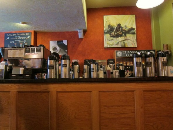 You wanna talk about coffee selection?