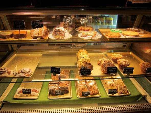 A sweet selection of delicacies calls your name by the entry.