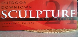 Lawrence KS Outdoor Downtown Sculpture Exhibition 2012