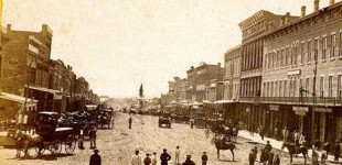 Massachusetts Street, Lawrence KS 1867