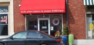 Lucky Paws Bakery, Lawrence Kansas